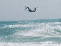 Apprendre les sauts en Kitesurf