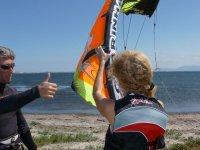Cours de kitesurf individuel