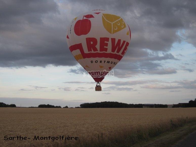 Sarthe montgolfiere