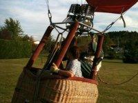 Decollage montgolfiere Tarn et Garonne