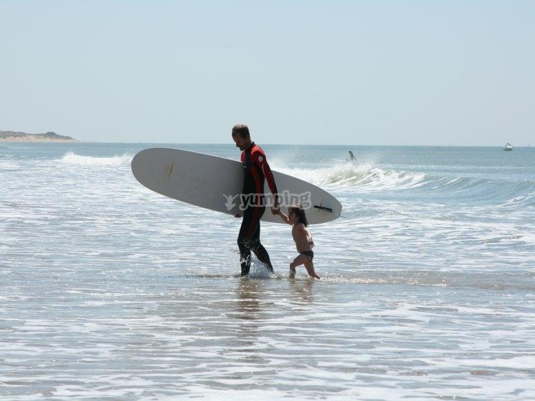 Cours de surf Le Bernard