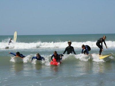 Stage de 5 jours de Surf ou Bodyboard en Vendée