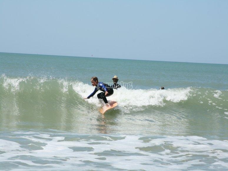 Cours de surf 85