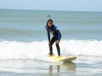 Cours de surf enfant