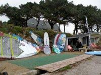 Cours de windsurf a Carnac