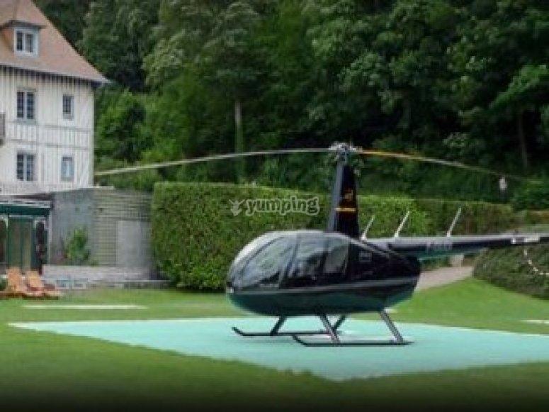Bon Cadeau Helicoptere