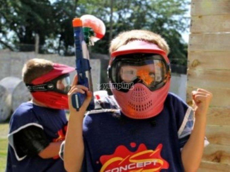 Paintball enfants