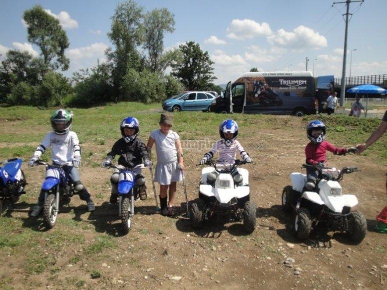 Moto et Quad pour les 6 12 ans