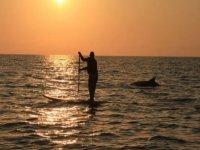 Rencontre en paddle surf a Soulac