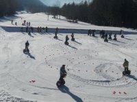 Sortie gyropode Segway sur neige a Chambery