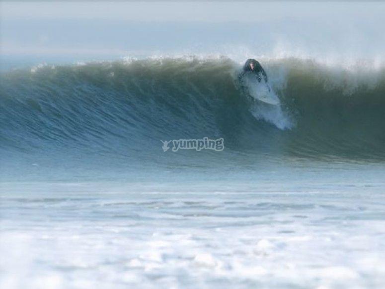 Semaine de surf en Vendée