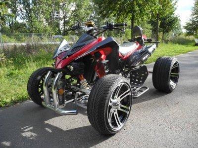 Quad 250cc 2 places Homologué route, accès piste