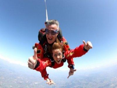 Saut en Parachute Tandem + Vidéo