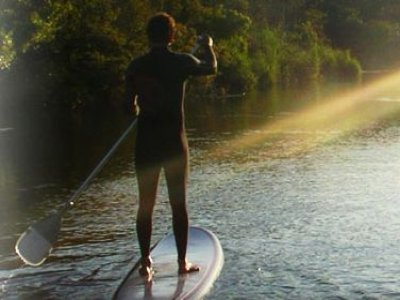 Nature Surf Camp Paddle Surf