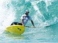 Paddle surf en mer dans les Landes