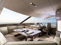 Salon yacht de luxe