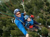 Parapente biplace pour les enfants en Savoie