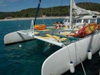 Croisiere en maxi catamaran