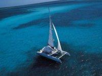 Promenade en maxi catamaran