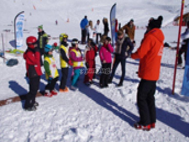 Cours de ski collectifs 3-4 ans