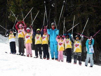 Cours de Ski - Les Ménuires, 6jours 3-4 ans