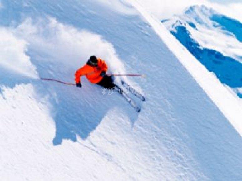 Cours particuliers ski freestyle Les Ménuires