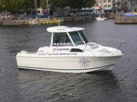En pleine formation theorique du permis bateau