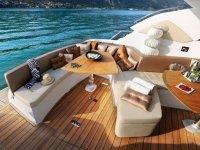 Exterieur du yacht