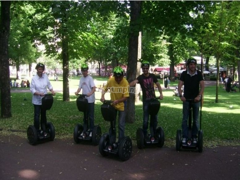 Segway a Clermont Ferrand