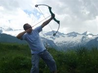 Tir à l'arc dans les Pyrenées