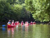 La Vezere en Canoe