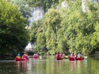 Canoe en Dordogne
