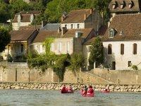 Decouverte de la Dordogne en Canoe