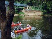 Canoe sur la Vezere
