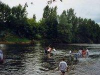 Debut de descente en canoe avec Kanoak