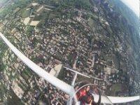Vol a voile dans les Alpes