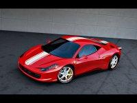 Ferrari 458 italia au Bourget