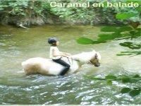 Petit bain a cheval