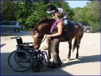 Activites equestres pour personnes en situation de handicaps