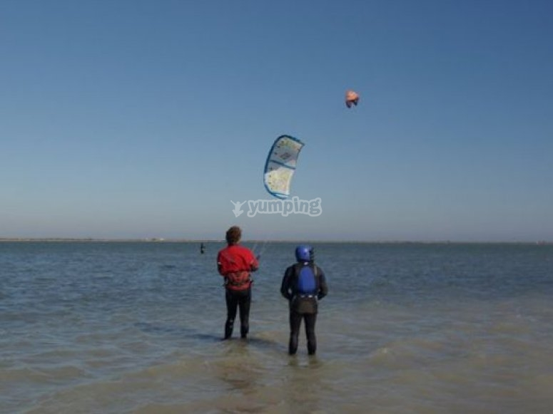 Decouverte kitesurf