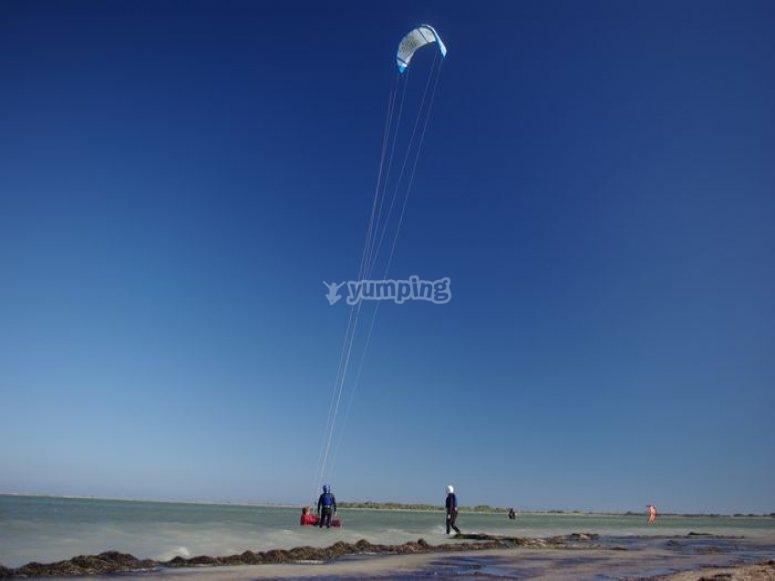 Kitesurf Etang de La Palme
