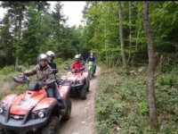 Balade en quad dans le Rhone