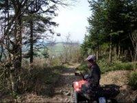 balade en quad dans le Haut Beaujolais