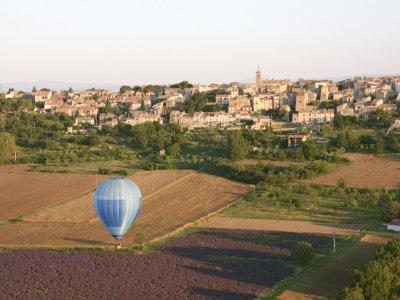 Vol en Montgolfière de 60 mins en Provence /Adulte