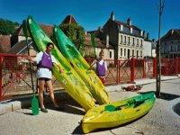 Canoe en Bourgogne