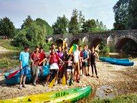 Canoe sur l Armancon