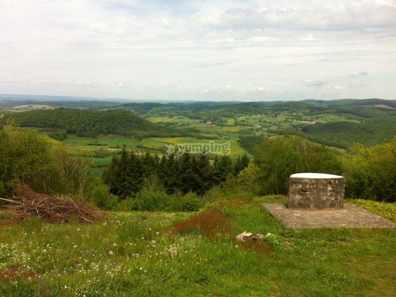 Panorama sur le Morvan