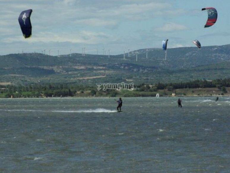 Ecole de kitesurf dans l Aude