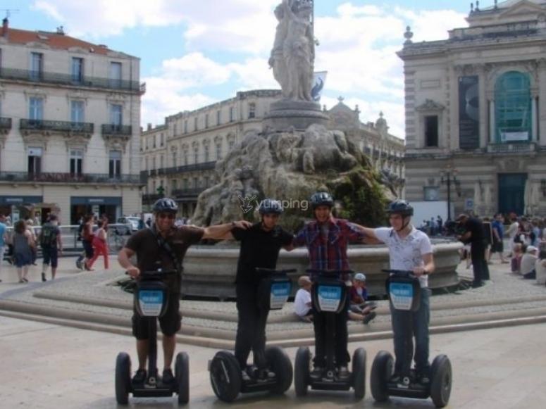 Visiter Montpellier en Segway
