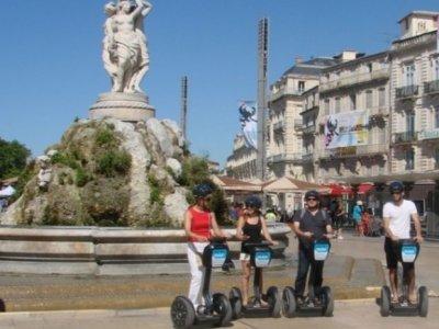1h Segway Découverte Montpellier L'Ecusson